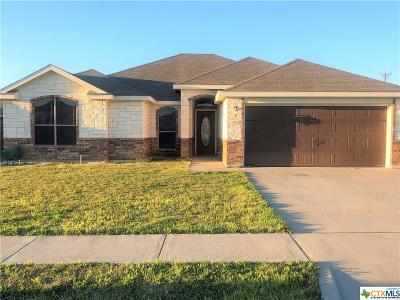 Copperas Cove Single Family Home For Sale: 3406 Horizon Street