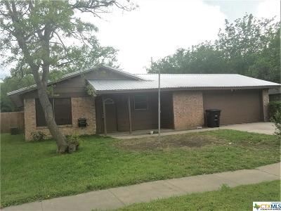 Killeen Single Family Home For Sale: 1018 Westover Drive