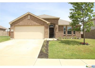 Killeen Single Family Home For Sale: 3611 Cotton Patch Drive