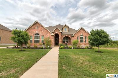 Harker Heights Single Family Home For Sale: 1711 Gold Splash Trail