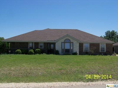 Copperas Cove Single Family Home Pending: 745 Thomas Street