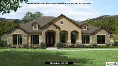 New Braunfels Single Family Home For Sale: 1307 Capitare