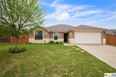 Killeen Single Family Home For Sale: 3810 Foxglove Lane