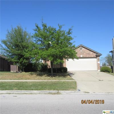 Killeen Single Family Home For Sale: 5514 Birmingham Circle