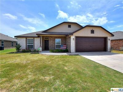 Killeen Single Family Home For Sale: 6412 Castle Gap Drive