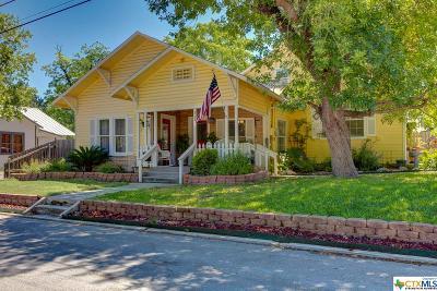 New Braunfels Single Family Home For Sale: 343 W Bridge Street