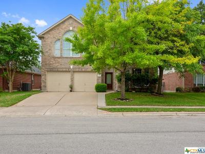 Round Rock Single Family Home For Sale: 1712 Fallen Leaf Lane