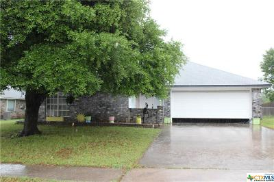 Copperas Cove Single Family Home For Sale: 406 E Hogan Drive