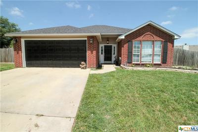 Temple Single Family Home For Sale: 808 Hartrick Circle