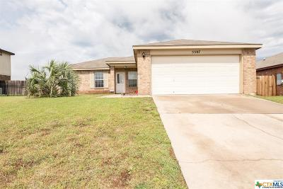 Killeen Single Family Home For Sale: 5507 Bridle Drive