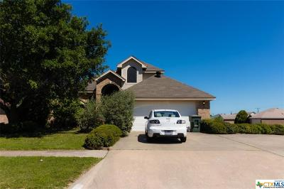 Killeen Single Family Home For Sale: 4008 Riverrock Drive