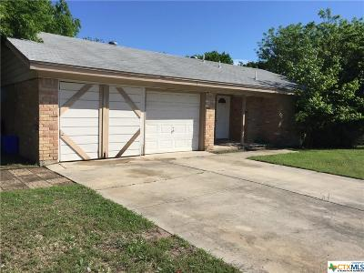 Copperas Cove Single Family Home Pending: 902 Sublett Avenue