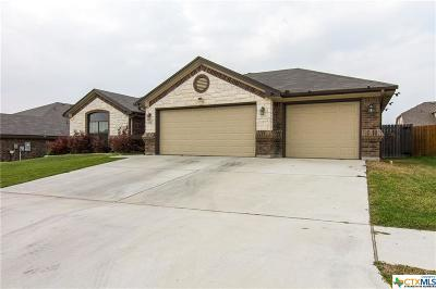 Killeen Single Family Home For Sale: 2701 Inspiration Drive