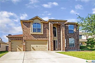 Harker Heights Single Family Home Pending: 204 Fitzgerald Court