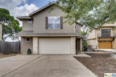 Canyon Lake Condo/Townhouse For Sale: 605 Riviera Drive