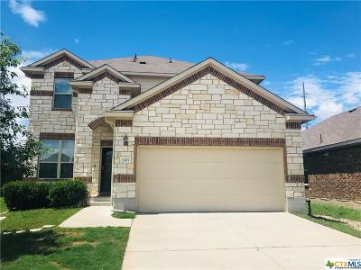 Killeen Single Family Home For Sale: 3305 Rusack Drive