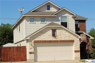 Killeen Single Family Home For Sale: 513 Draco Street