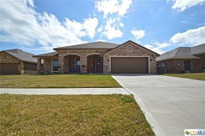 Killeen Single Family Home For Sale: 3508 Breeder Lane