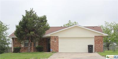 Killeen Single Family Home For Sale: 2304 Goode Circle