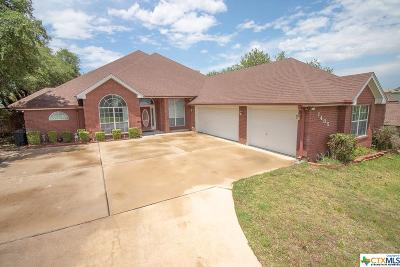 Harker Heights, Nolanville Single Family Home For Sale: 1405 Summer Glen Drive