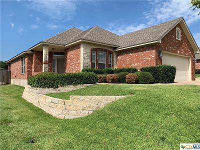 Harker Heights, Nolanville Single Family Home For Sale: 410 Cheetah Trail