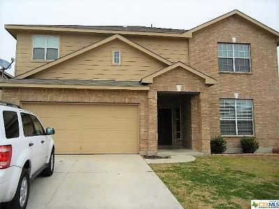Killeen Single Family Home For Sale: 9100 Ashlyn Drive