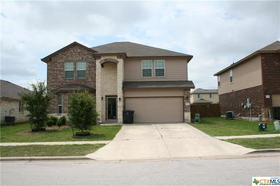 Killeen Single Family Home For Sale: 5006 Green Meadow Street