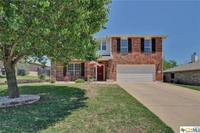 Harker Heights Single Family Home Pending: 411 Reservation Drive
