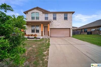 Copperas Cove Single Family Home For Sale: 1805 Coy Drive
