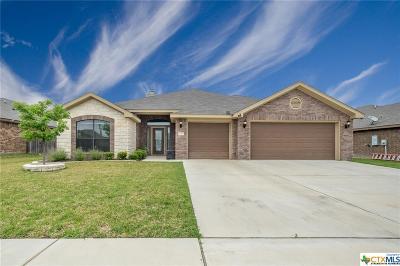 Killeen Single Family Home For Sale: 3509 Breeder Lane