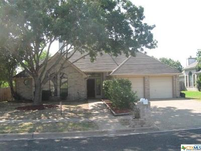 Harker Heights Single Family Home For Sale: 405 Silver Creek Drive