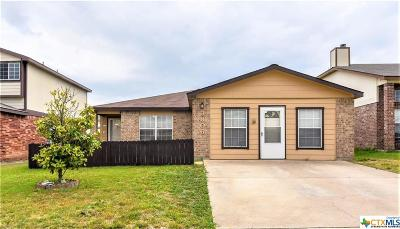 Killeen Single Family Home For Sale: 3806 Sunflower Drive