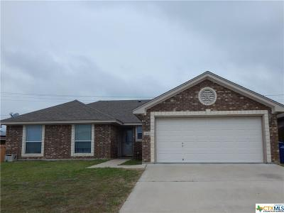Copperas Cove Single Family Home Pending: 3410 Lauren Street