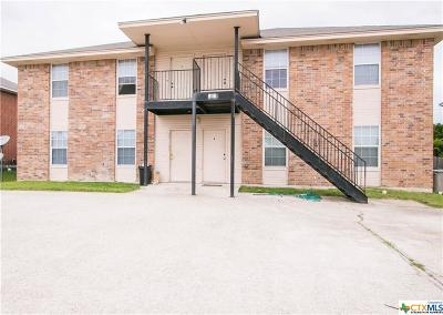 Harker Heights Multi Family Home For Sale: 1619 Inca Drive