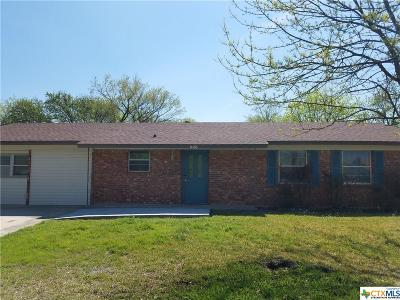 Copperas Cove Single Family Home Pending: 603 S 23rd Street