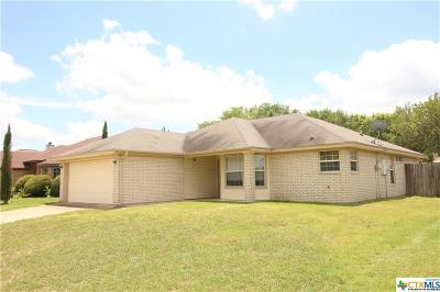 Killeen Single Family Home For Sale: 2304 Ledgestone Drive