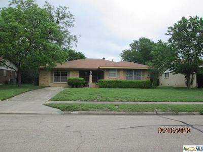 Killeen Single Family Home For Sale: 3215 Lake Inks Avenue
