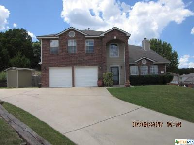 Copperas Cove Single Family Home Pending: 410 Citation Circle