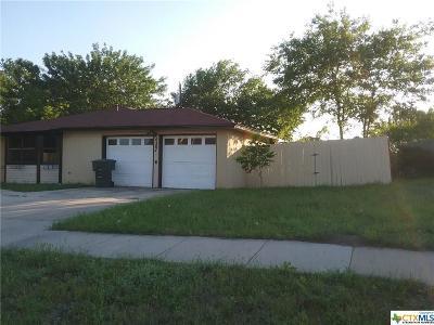 Killeen Single Family Home For Sale: 4304 SE Brian Drive