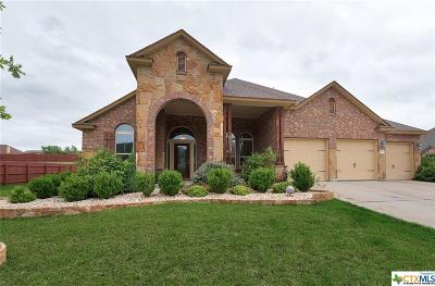 Harker Heights Single Family Home For Sale: 3607 Mesquite Branch Drive
