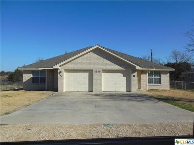 Harker Heights Multi Family Home Pending: 1515 Pueblo Trace