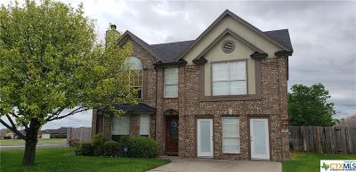 Killeen Single Family Home For Sale: 4310 Rifle Drive