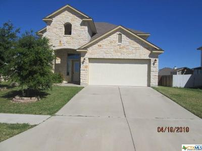 Killeen Single Family Home For Sale: 2506 Black Orchid Drive