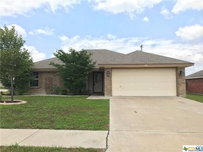 Killeen TX Single Family Home For Sale: $157,100