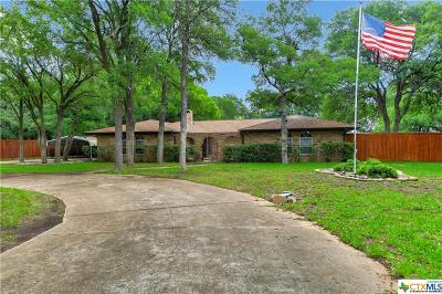 Copperas Cove Single Family Home Pending: 539 Woodland Drive