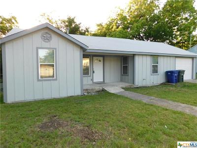 Copperas Cove Single Family Home For Sale: 704 S Main Street