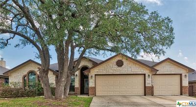 Harker Heights Single Family Home For Sale: 2029 Cork Oak Drive