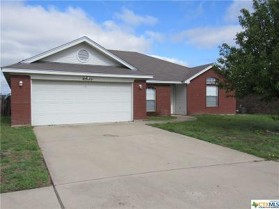 Killeen TX Single Family Home For Sale: $129,000
