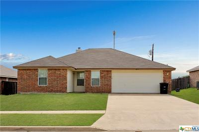 Killeen Single Family Home For Sale: 3802 Kevin Shaw Drive