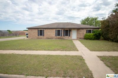 Killeen Single Family Home For Sale: 4200 Waterproof Drive